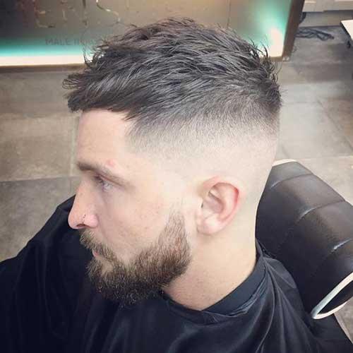 haircut men fade - photo #7