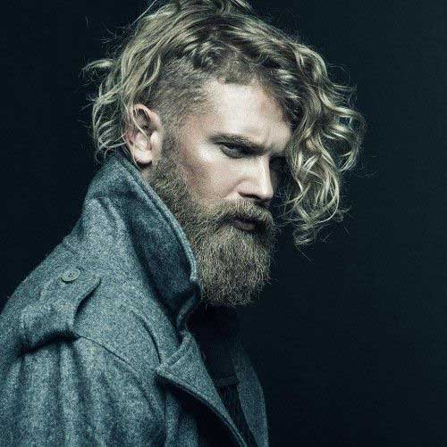 Mens Long Curly Hairstyles 2015