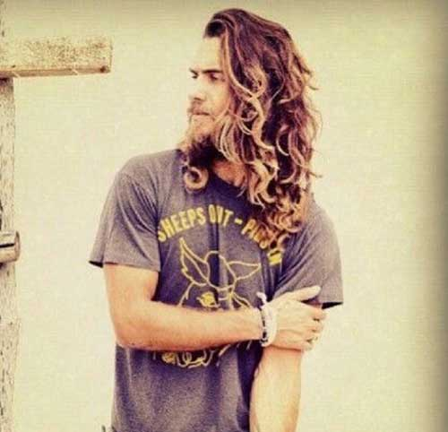 Mens Long Hair Style