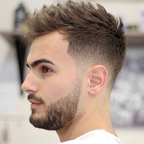 20 best short mens hairstyles mens hairstyles 2018. Black Bedroom Furniture Sets. Home Design Ideas
