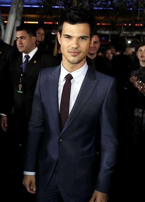 Taylor Lautner Hair Style