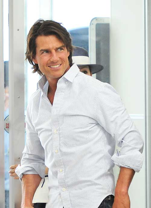 Tom Cruise Hair Style