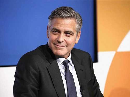 George Clooney Hairstyles-10