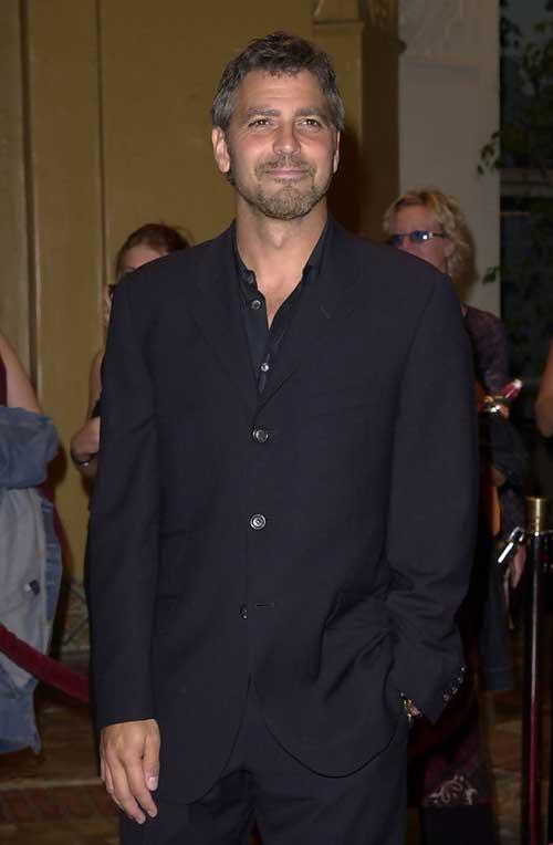 George Clooney Hairstyles-11
