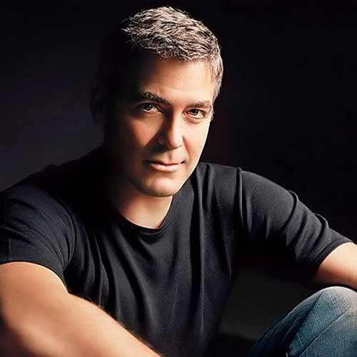 George Clooney Hairstyles-13