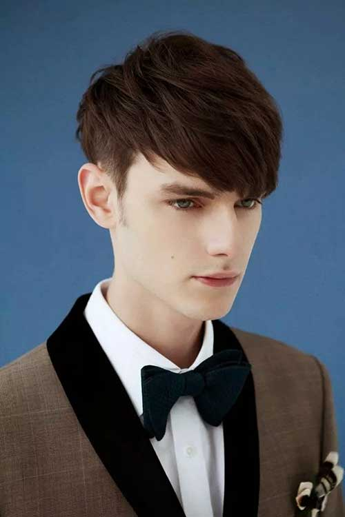 Excellent 20 Mens Bangs Hairstyles Mens Hairstyles 2016 Short Hairstyles For Black Women Fulllsitofus