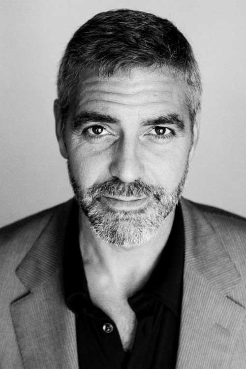 George Clooney Hairstyles-16