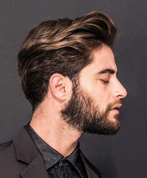 Medium Length Mens Hairstyles-16