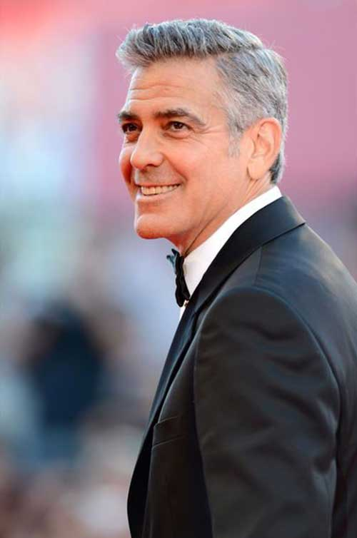 George Clooney Hairstyles-17