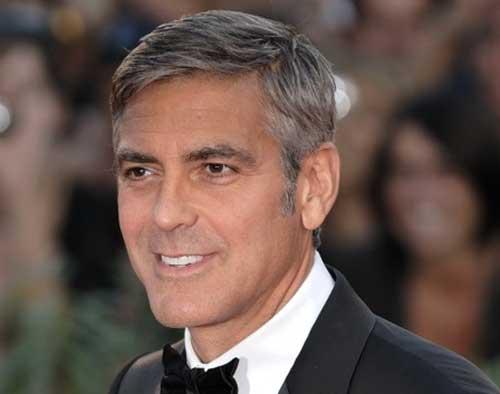 George Clooney Hairstyles-18