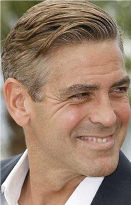George Clooney Hairstyles-19