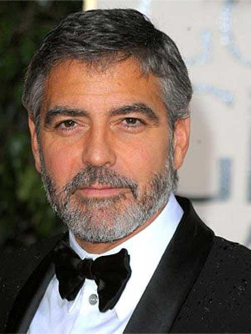 George Clooney Hairstyles-20