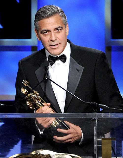 George Clooney Hairstyles-21