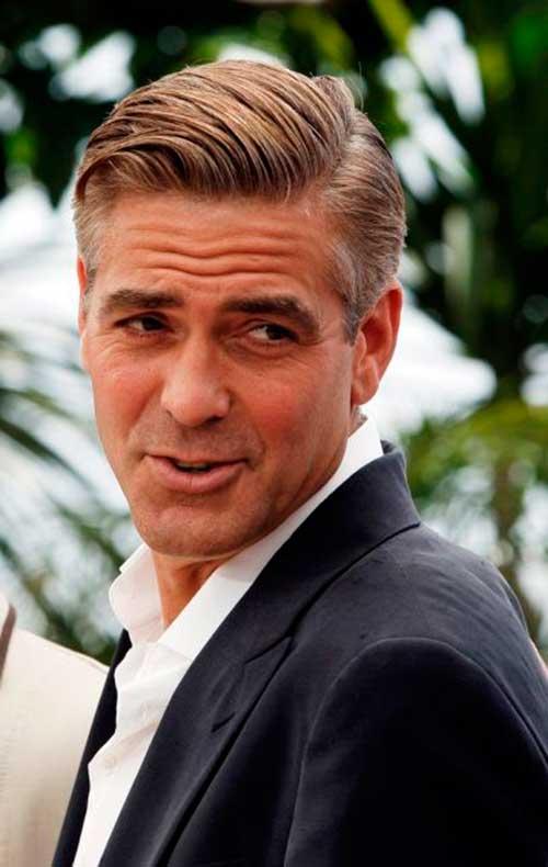 George Clooney Hairstyles-22