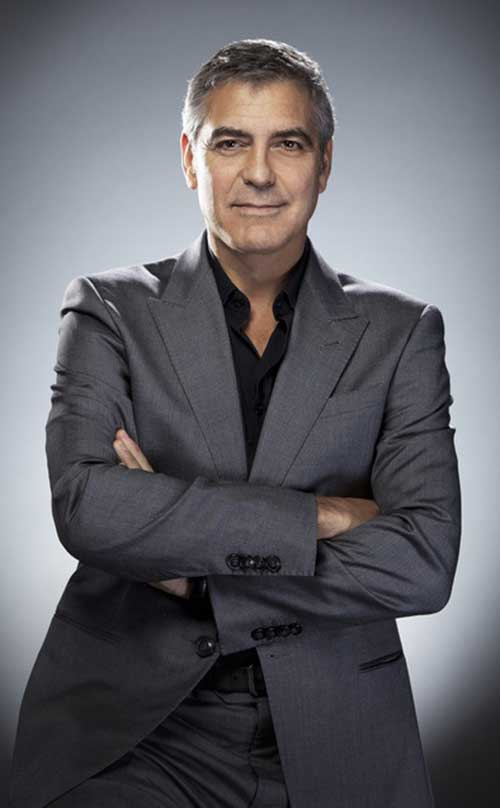 George Clooney Hairstyles-23
