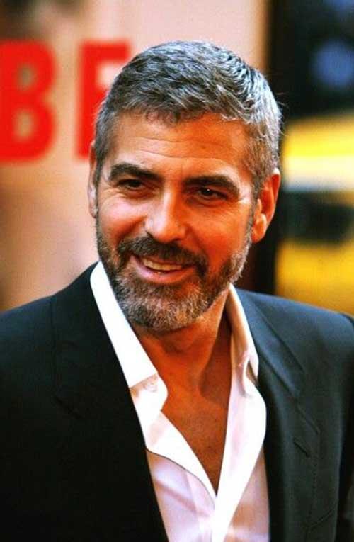 25 George Clooney Hairstyles Mens Hairstyles 2018