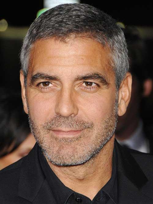 25 George Clooney Hair...