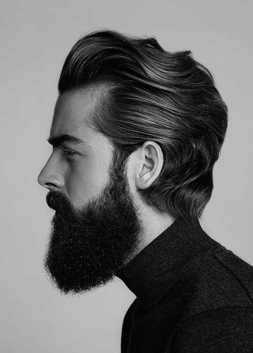 Medium Length Mens Hairstyles-7