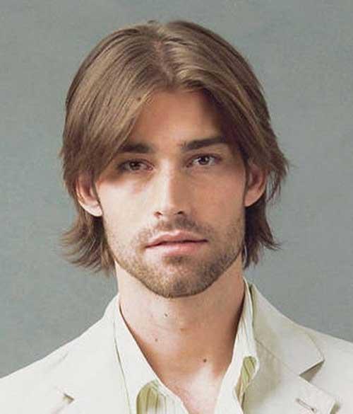 Medium Length Mens Hairstyles-8