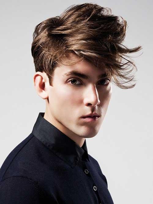 Medium Length Mens Hairstyles-9