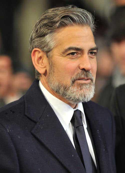 George Clooney Hair Style