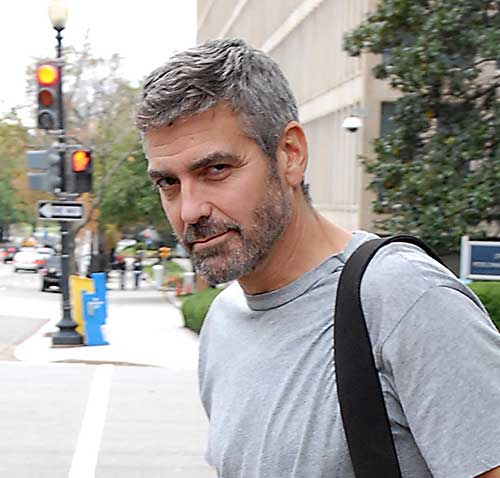 George Clooney Haircut