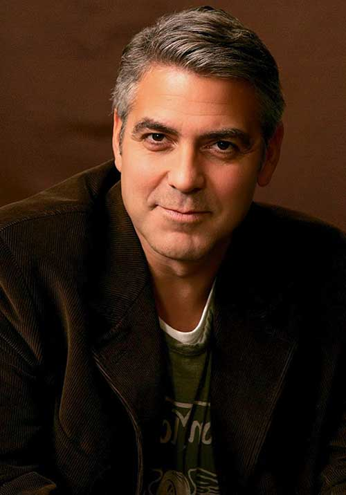 George Clooney Haircuts