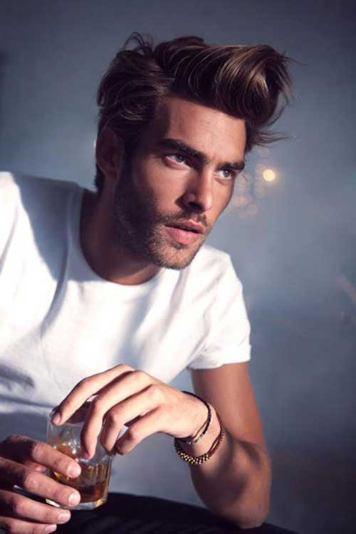 Hairstyles with Bangs Men