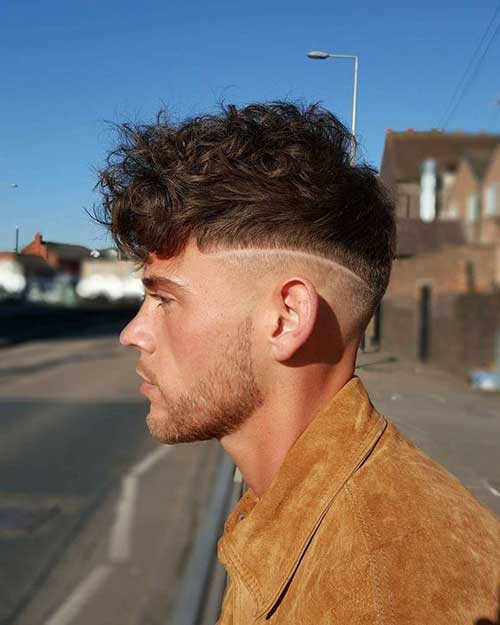 Thick Wavy Hairstyles for Men-10