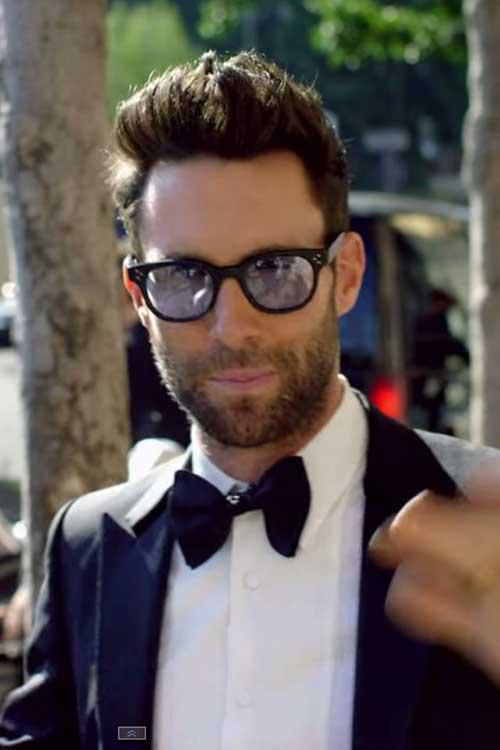 Adam Levine Hairstyles-11