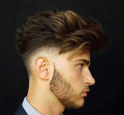 Thick Wavy Hairstyles for Men-11