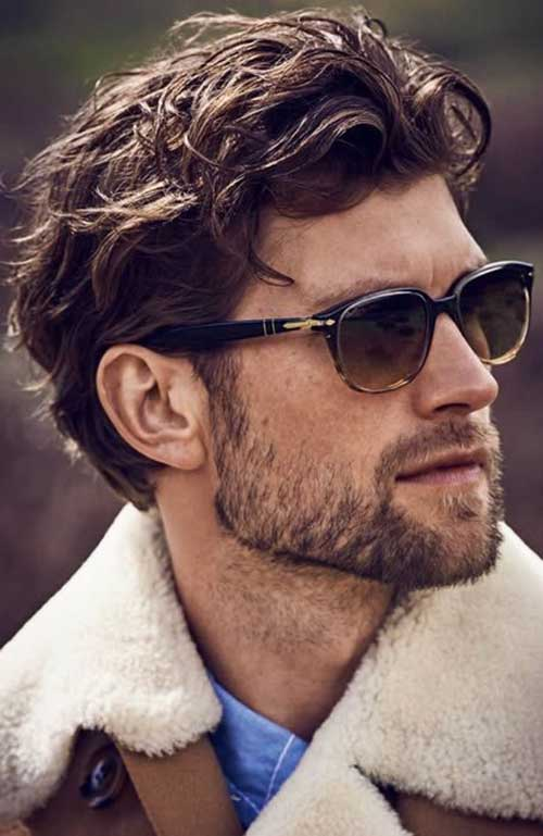 Thick Wavy Hairstyles for Men-12
