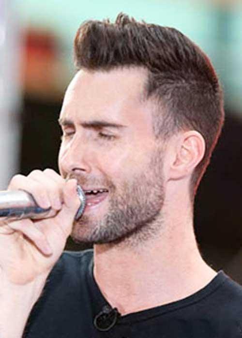Adam Levine Hairstyles-14
