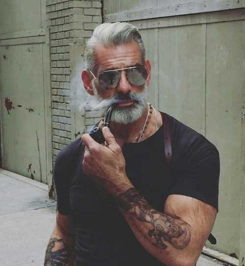 Hairstyles for Older Men-15
