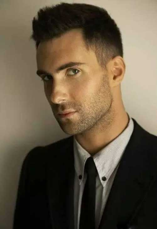 Adam Levine Hairstyles-16