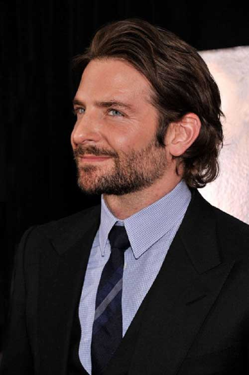 20 bradley cooper haircuts mens hairstyles 2018. Black Bedroom Furniture Sets. Home Design Ideas