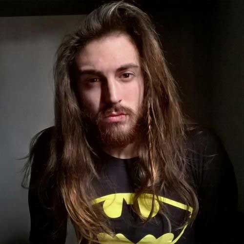 Hairstyles for Men with Long Hair-16