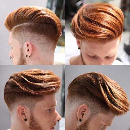 Medium Hairstyles for Men-16