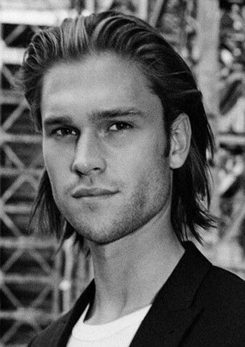 Hairstyles for Men with Long Hair-20