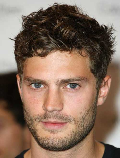 Hairstyles for Wavy Hair Men-20