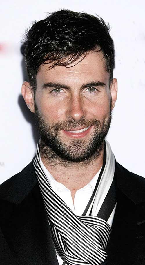 Adam Levine Hairstyles-6