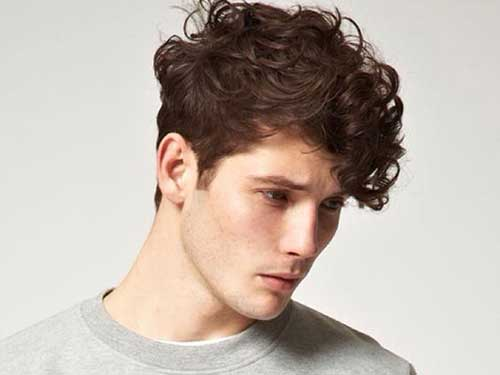 Thick Wavy Hairstyles for Men-9