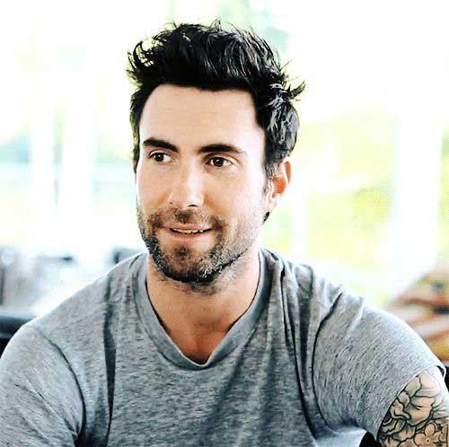 Adam Levine Hair Styles