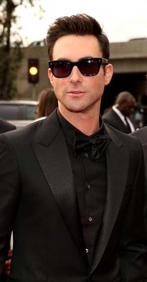 adam levine short spiky hairstyle cool mens hair male