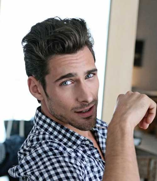Hairstyle for Men with Wavy Hair