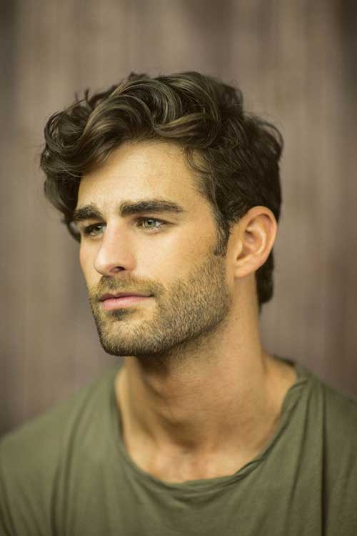 Hairstyles for Men with Thick Wavy Hair