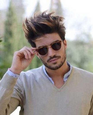 20 Blowout Hairstyle for Men | Mens Hairstyles 2018