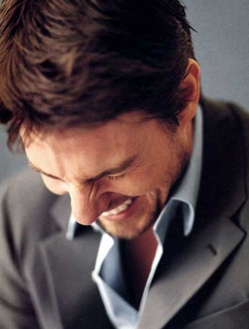 Tom Cruise Hair Styles