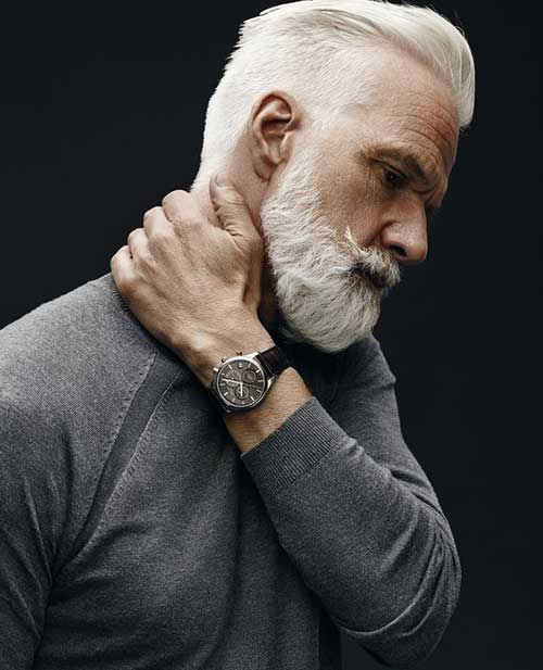 Hairstyles for Older Men-10