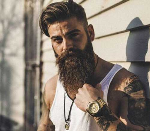 Full Beard Styles for Men-11